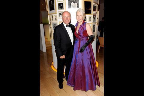 BFI chairman Greg Dyke and BFI director Amanda Nevill